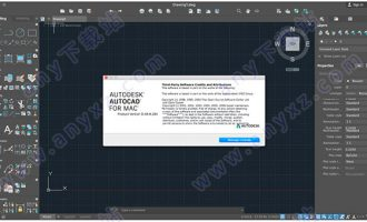 autocad 2018 mac 破解版 含注册机和安装教程