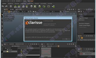 clarisse ifx 3.5 sp4破解版(高端2D/3D动画软件) 32位/64位