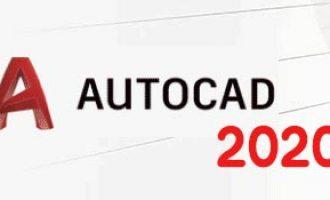 autocad2020序列号和密钥 附使用教程