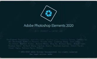 photoshop elements 2020中文直装破解版下载 v18.0